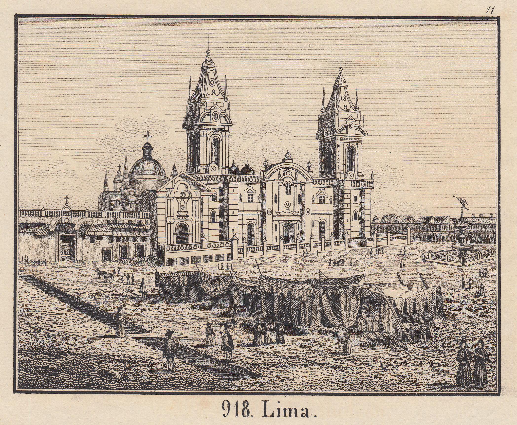 Ansicht.: Peru: Lima: