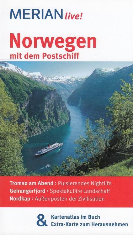 Norwegen mit dem Postschiff [Kt. Merian-Kartographie] / Merian live! - Schröder, Ralf