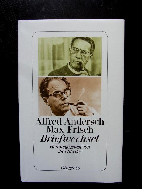 Briefwechsel. Hrsg.v. Jan Bürger.: Andersch, Alfred (u.)