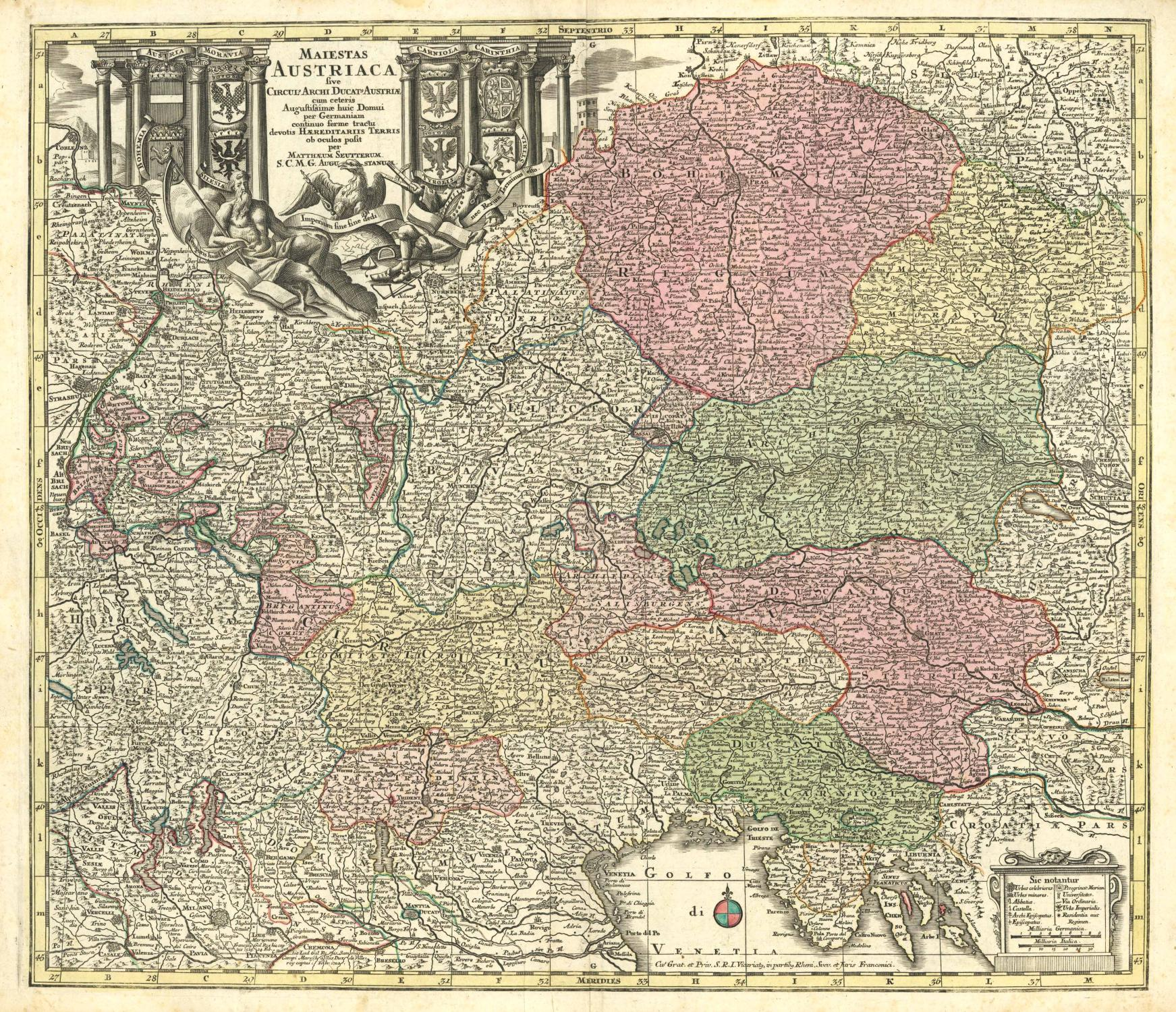Maiestas Austriaca sive Circul Archi Ducat Austriae: ÖSTERREICH (Austria) -