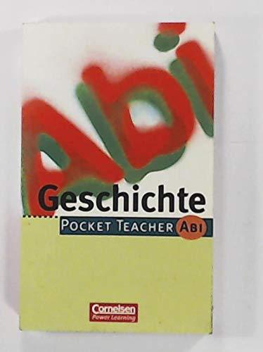 Geschichte. Pocket teacher Abi: Matthiessen, Wilhelm: