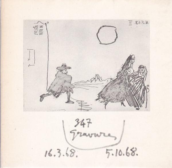 347 Gravures.: Picasso, Pablo: