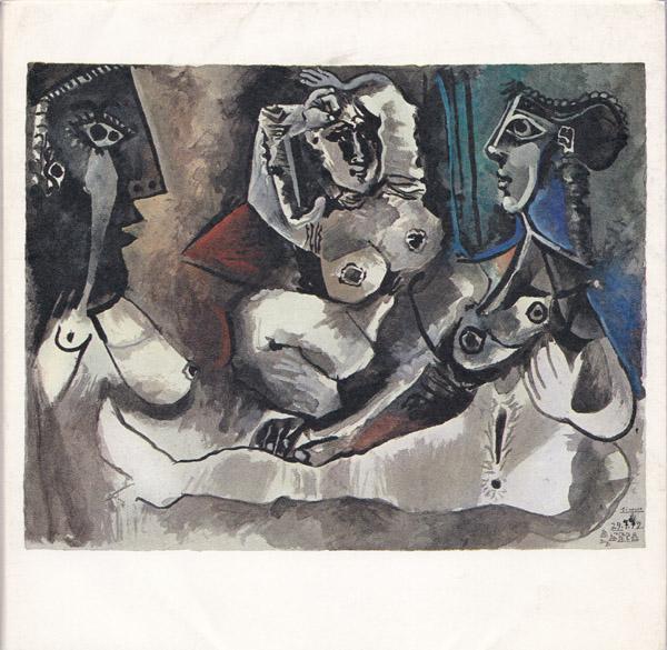 172 Dessins en noir et en couleurs.: Picasso, Pablo:
