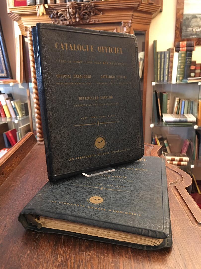 Offizieller Katalog der Originalersatzteile für die Reparatur: Les Fabricants Suisses
