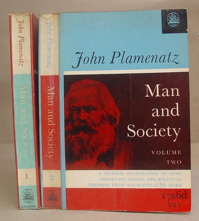 Man And Society - Political Aand Social: Plamenatz, John