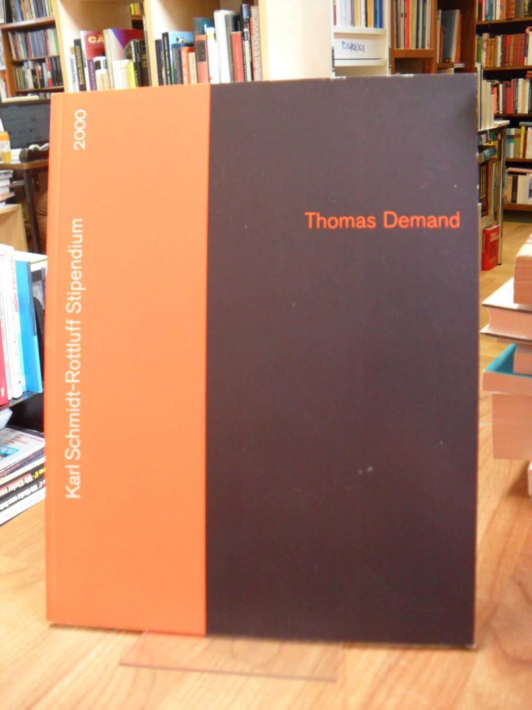 Thomas Demand - Karl-Schmidt-Rottluff Stipendium 2000,: Demand, Thomas,