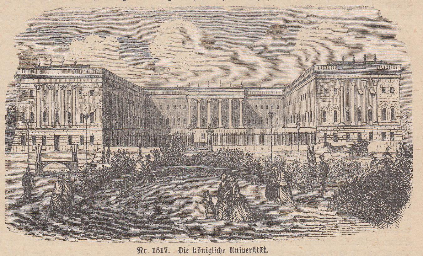 Die königliche Universität.: Berlin - Universität: