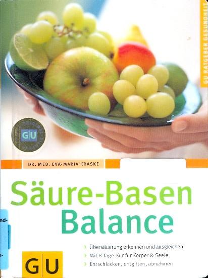 Säure-Basen-Balance ;.: Kraske, Eva-Maria :