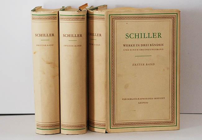 Schiller Werke In Drei Banden Band 1 3 Von Friedrich Schiller 1956 Das Alte Buch Versandantiquariat