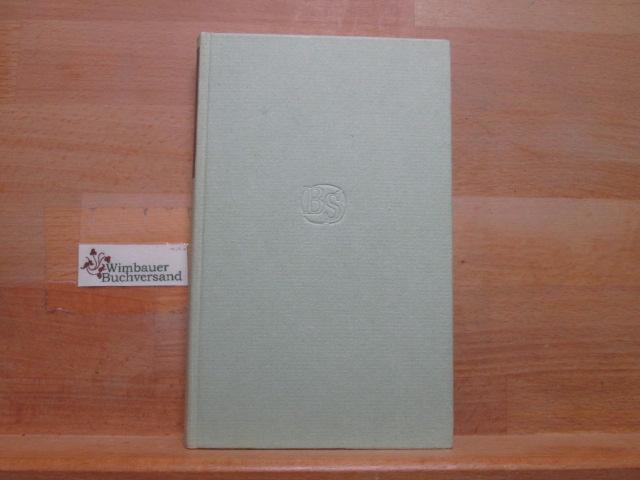Pariser Tagebuch. Bibliothek Suhrkamp ; Bd. 18: Jedlicka, Gotthard :
