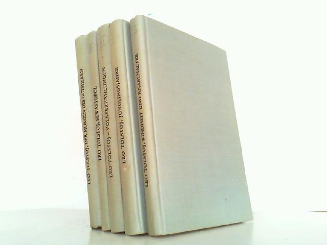 5 Bücher: Kindheit und Knabenalter / Jünglingsjahre: Tolstoi, Leo N.: