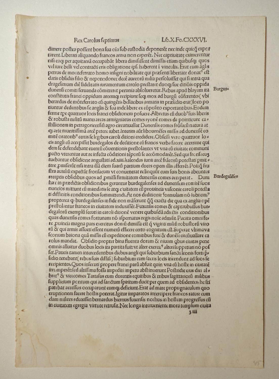 Compendium de origine et gestis Francorum (GW: Robertus Gaguinus: