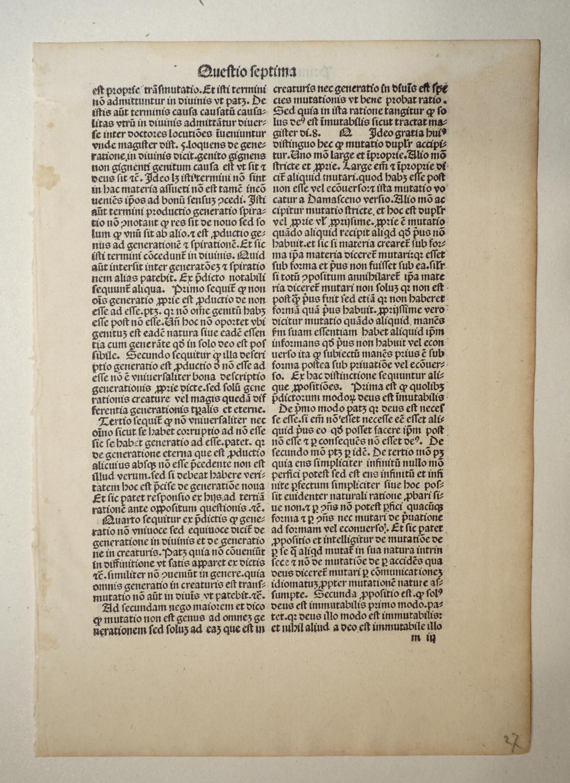 Quaestiones super I. III. et IV. sententiarum.: Petrus de Alliaco: