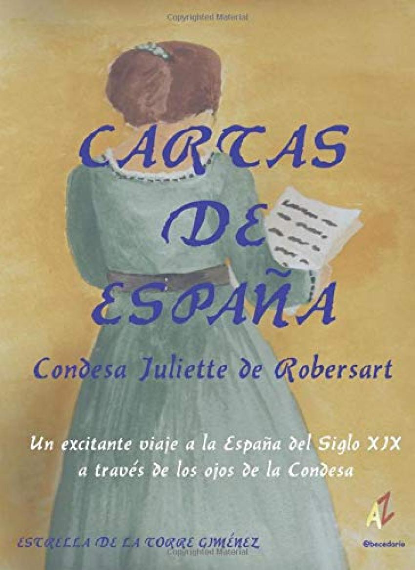 Cartas de España. Condesa Juliette de Robersart - Estrella de la Torre Giménez
