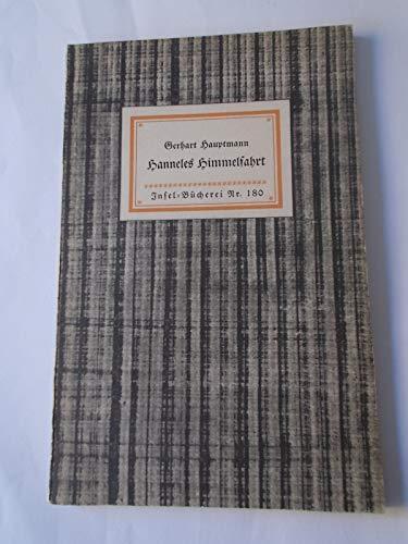 Hanneles Himmelfahrt, Insel-Bücherei Nr. 180: Gerhard Hauptmann: