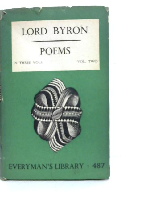 Poems Volume Two: Byron
