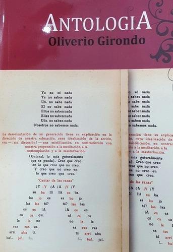 Antologia - Girondo, Oliverio - GIRONDO, OLIVERIO