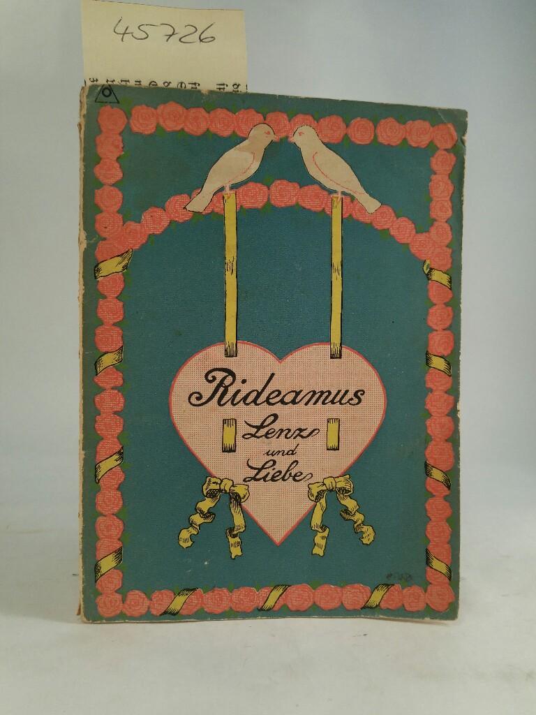 Lenz und Liebe - mit Illustrationen von: Rideamus: