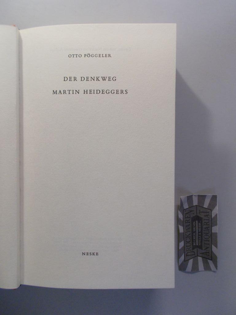 Der Denkweg Martin Heideggers.: Pöggeler, Otto: