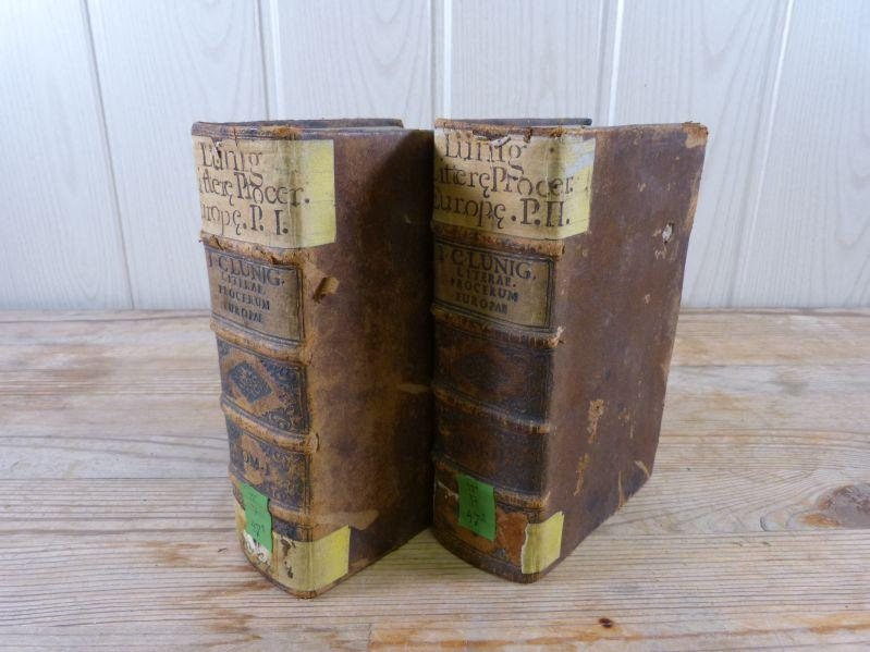 Literae procerum Europae, ab imperatoribus, electoribus, principibus,: Lünig, Johann Christian,