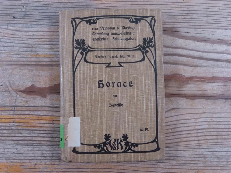 Horace Tragedie en Cinq Actes par P.: Mueller, R. (Hrsg.),
