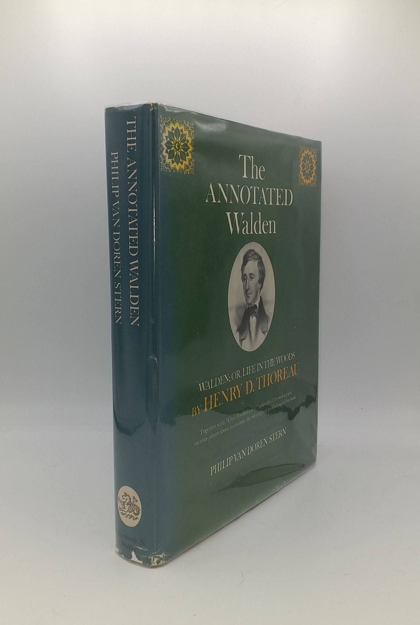 THE ANNOTATED WALDEN Walden or Life in: THOREAU Henry D.,