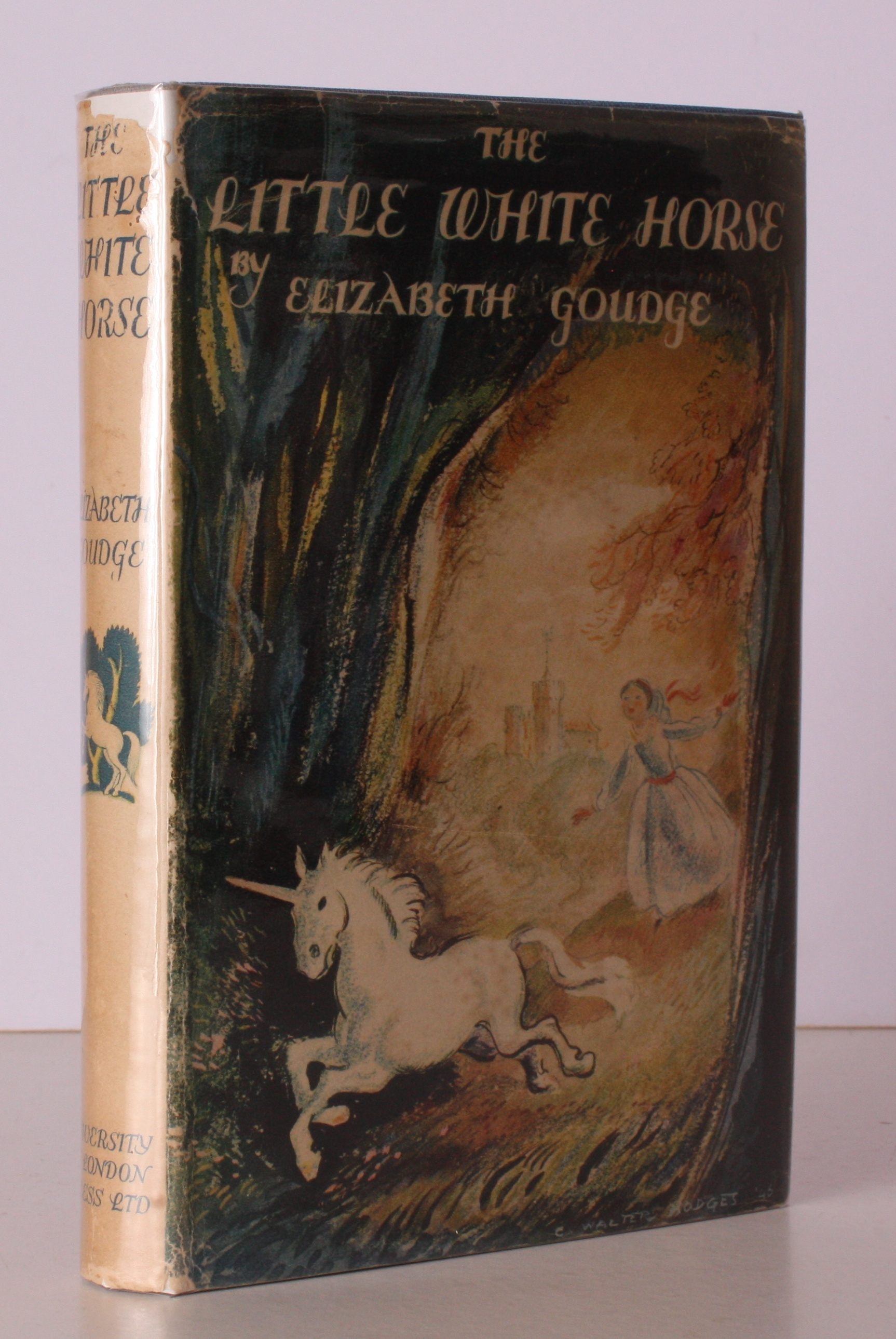 Elizabeth Goudge The Little White Horse First Edition Abebooks