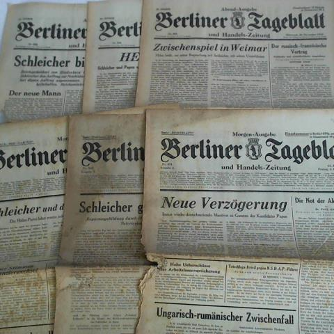 61. Jahrgang 1932, Morgen-Ausgabe, Nr. 569, 571: Berliner Tageblatt und