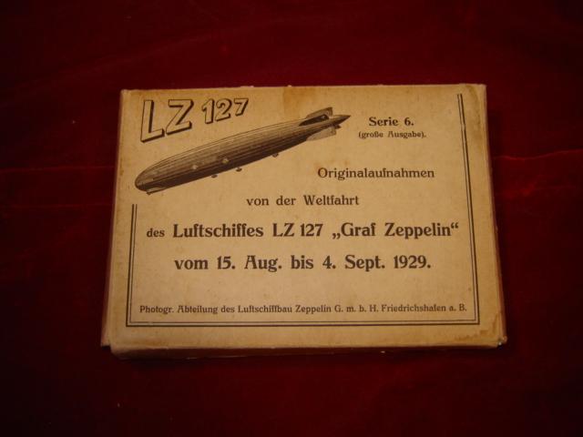Originalaufnahmen von der Weltfahrt des Luftschiffes LZ: Luftschiffbau Zeppelin GmbH