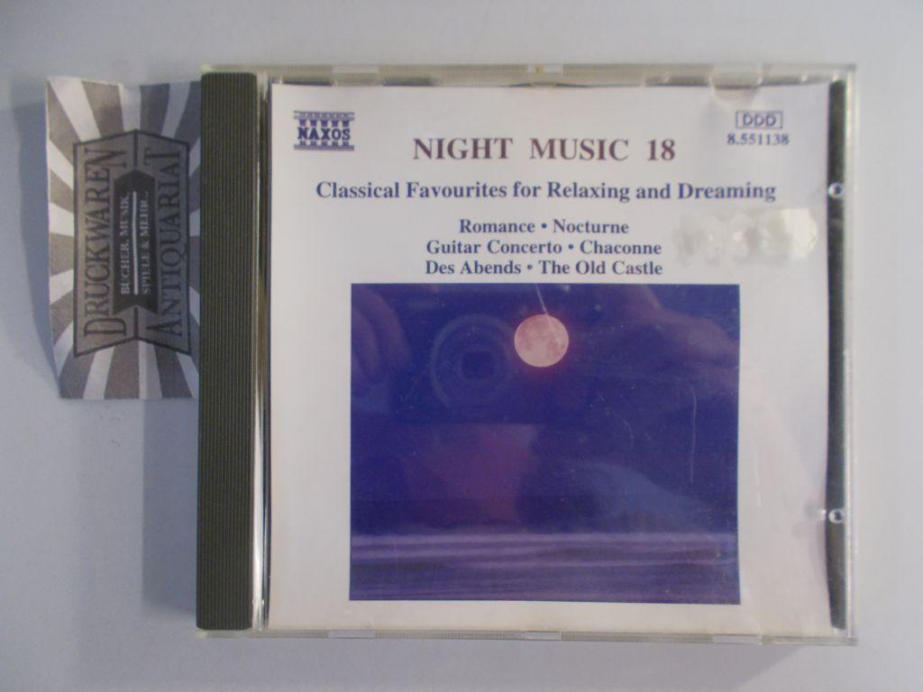 Night Music 18 [Audio CD]. Classical Favourites: Various Artist: