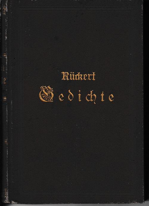 Gedichte. In Auswahl herausgegeben von Philipp Stein.: Rückert, Friedrich