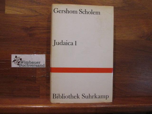 Judaica; Teil: 1. Bibliothek Suhrkamp ; Bd.: Scholem, Gershom :