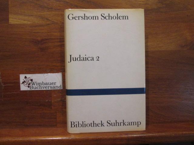 Judaica; Teil: 2. Bibliothek Suhrkamp ; Bd.: Scholem, Gershom :