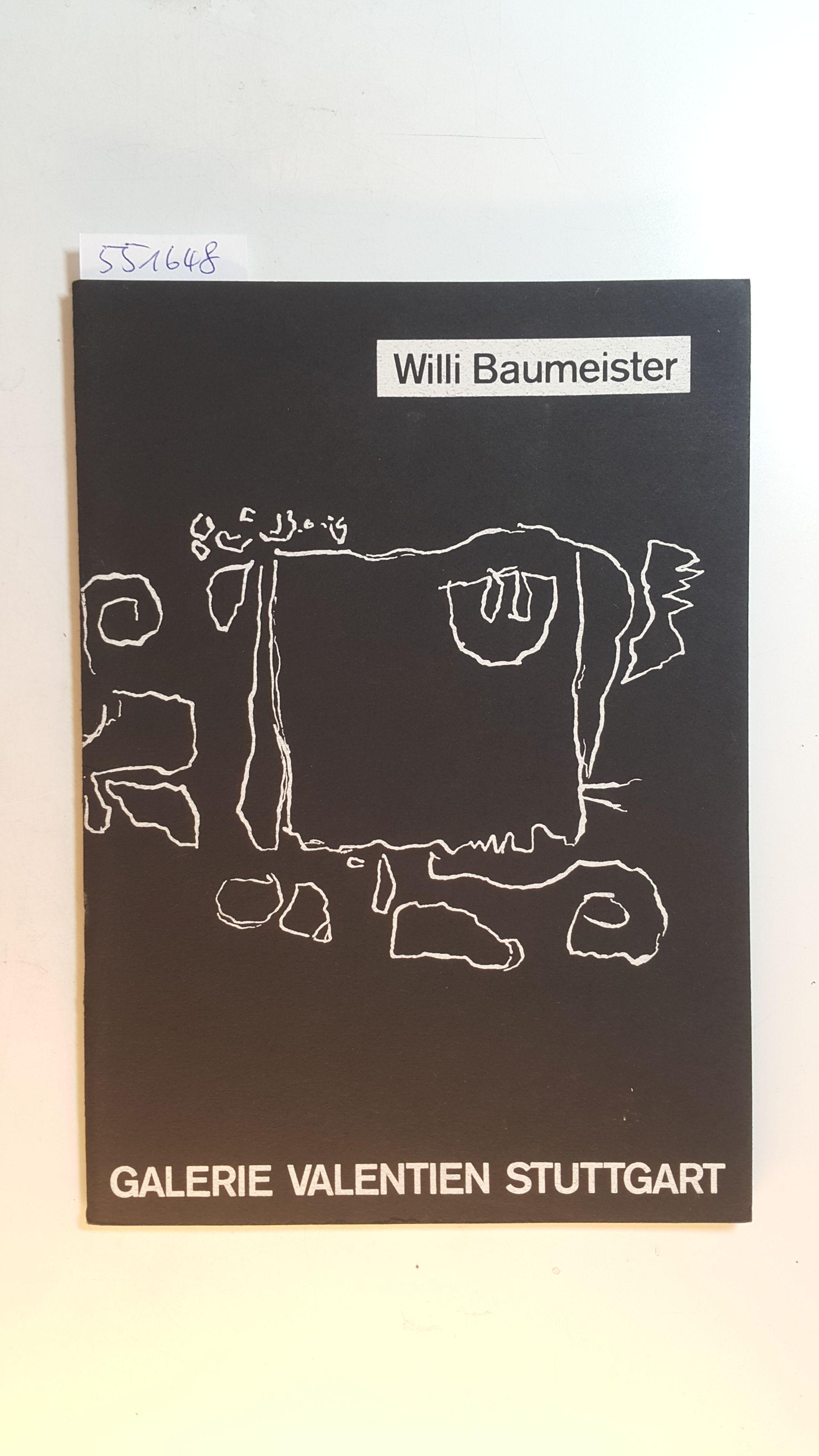 Willi Baumeister : Graphik und Zeichnungen (Ausstellung: Arntz, Wilhelm F.,