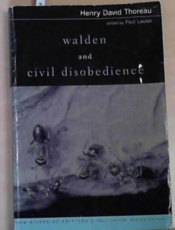 Thoreau, H: Walden and Civil Disobedience (New: Thoreau, Henry David