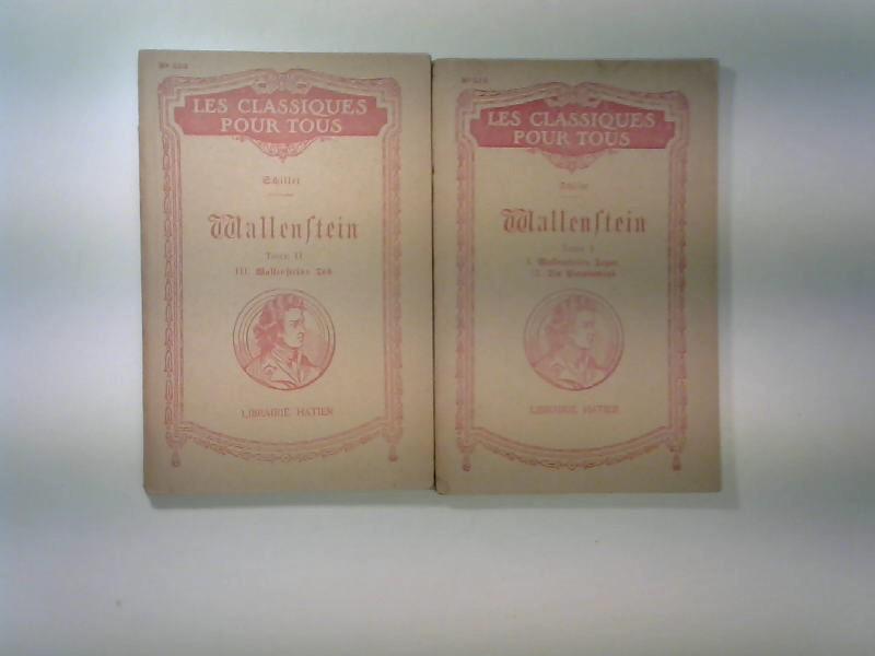 2 Bände Wallenstein = Band 1: Wallensteins: Schiller, Friedrich: