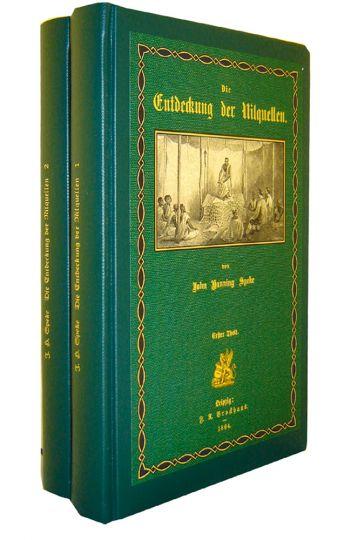 Die Entdeckung der Nilquellen 2 Bände: John Hanning Speke