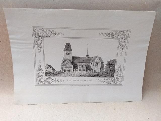 Der Dom zu Ratzeburg. Federlithographie aus Lisch: Ratzeburg