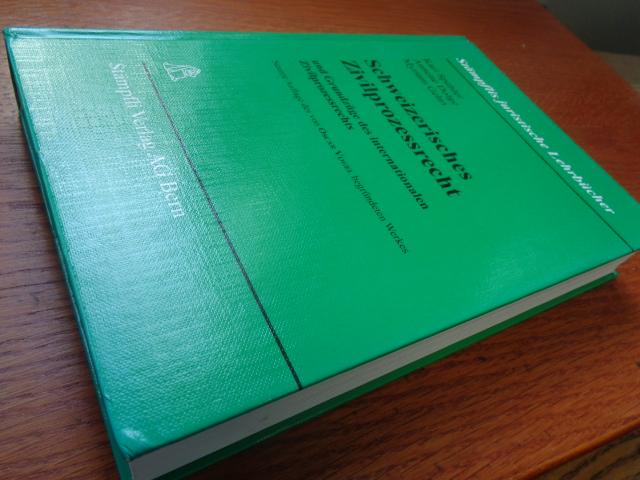 Schweizerisches Zivilprozessrecht 9. auflage - Spühler, Karl, Annette Dolge und Myriam Gehri,