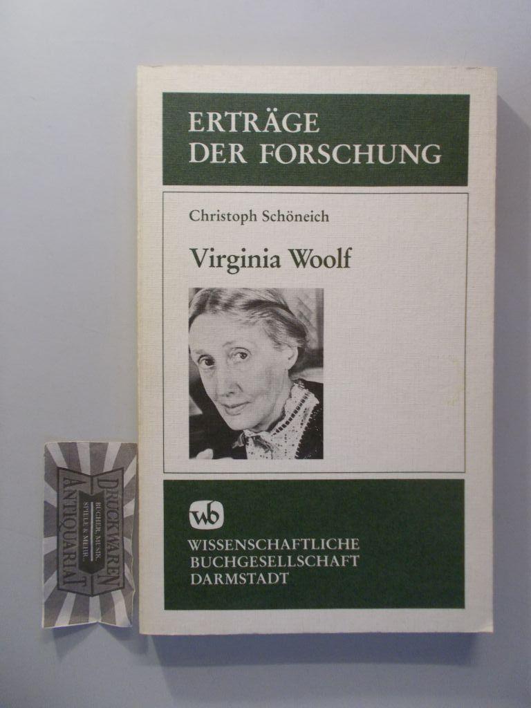 Virginia Woolf. Erträge der Forschung Band 266. - Schöneich, Christoph