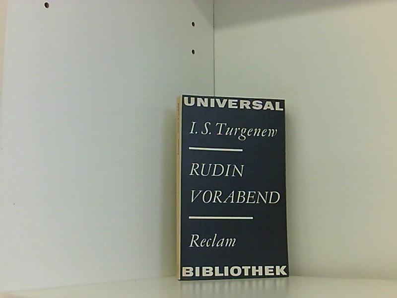 Rudin - Vorabend: Iwan, Turgenew: