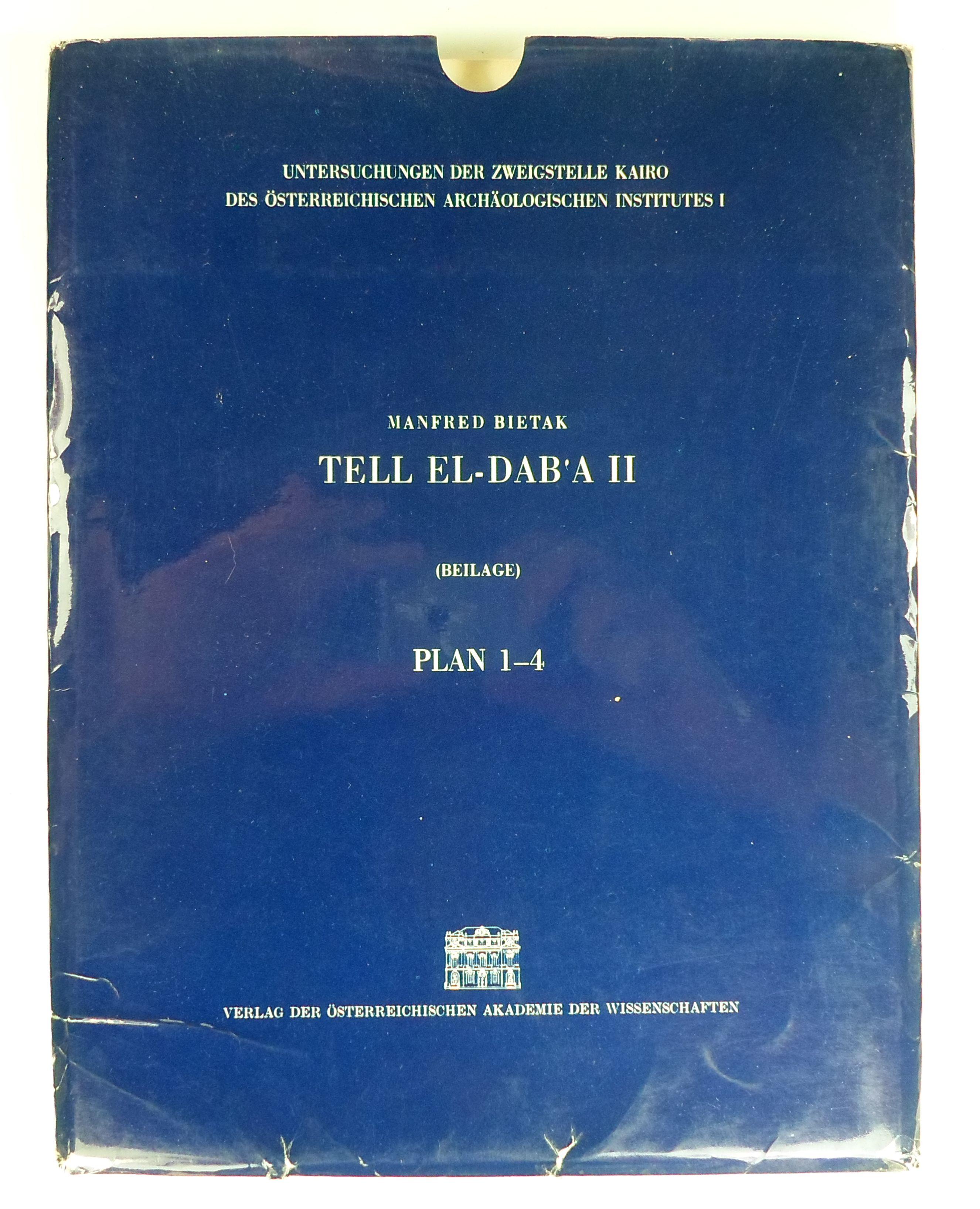 Tell El-Dab'a II. (Beilage). Plan 1-4. (Untersuchungen: Bietak, Manfred: