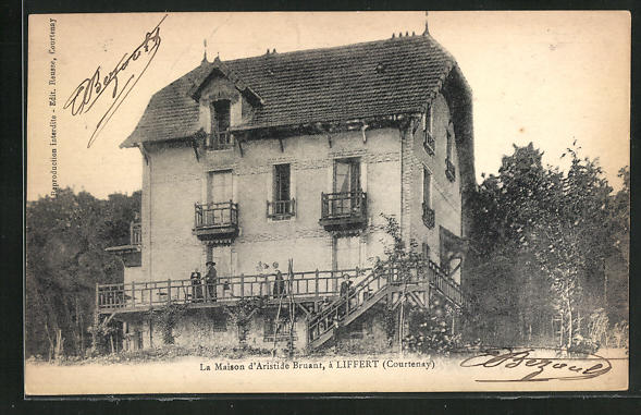 Carte postale Liffert, La Maison d`Aristide Bruant