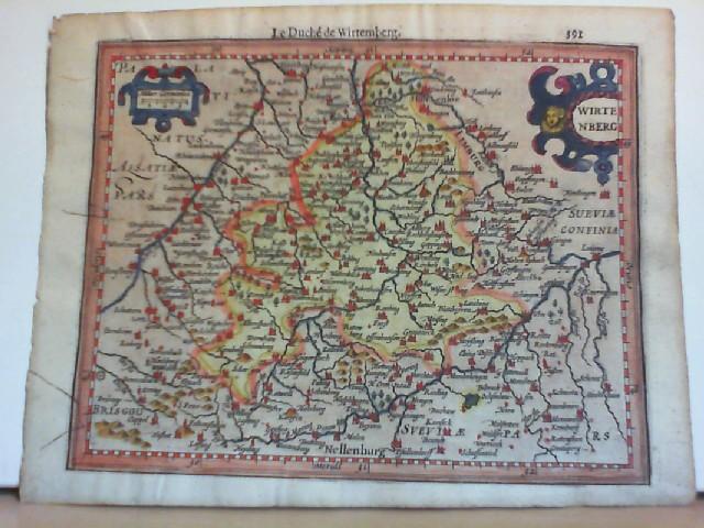 Le Duché de Wirtemberg. Württemberg Herzogtum. Original: Württemberg ( Herzogtum