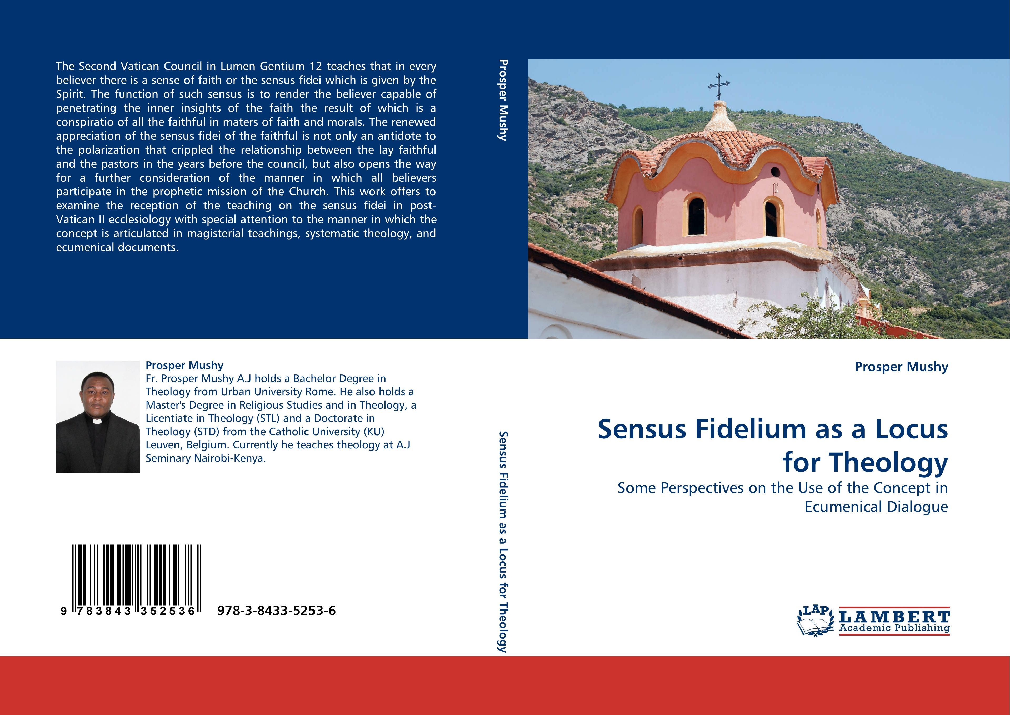 Sensus Fidelium as a Locus for Theology - Mushy, Prosper