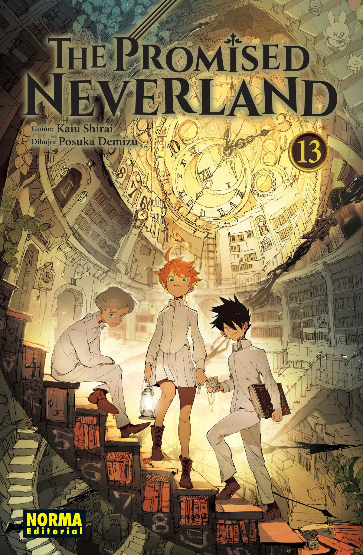The promised neverland 13 - Kaiu Shirai-posuka Demizu