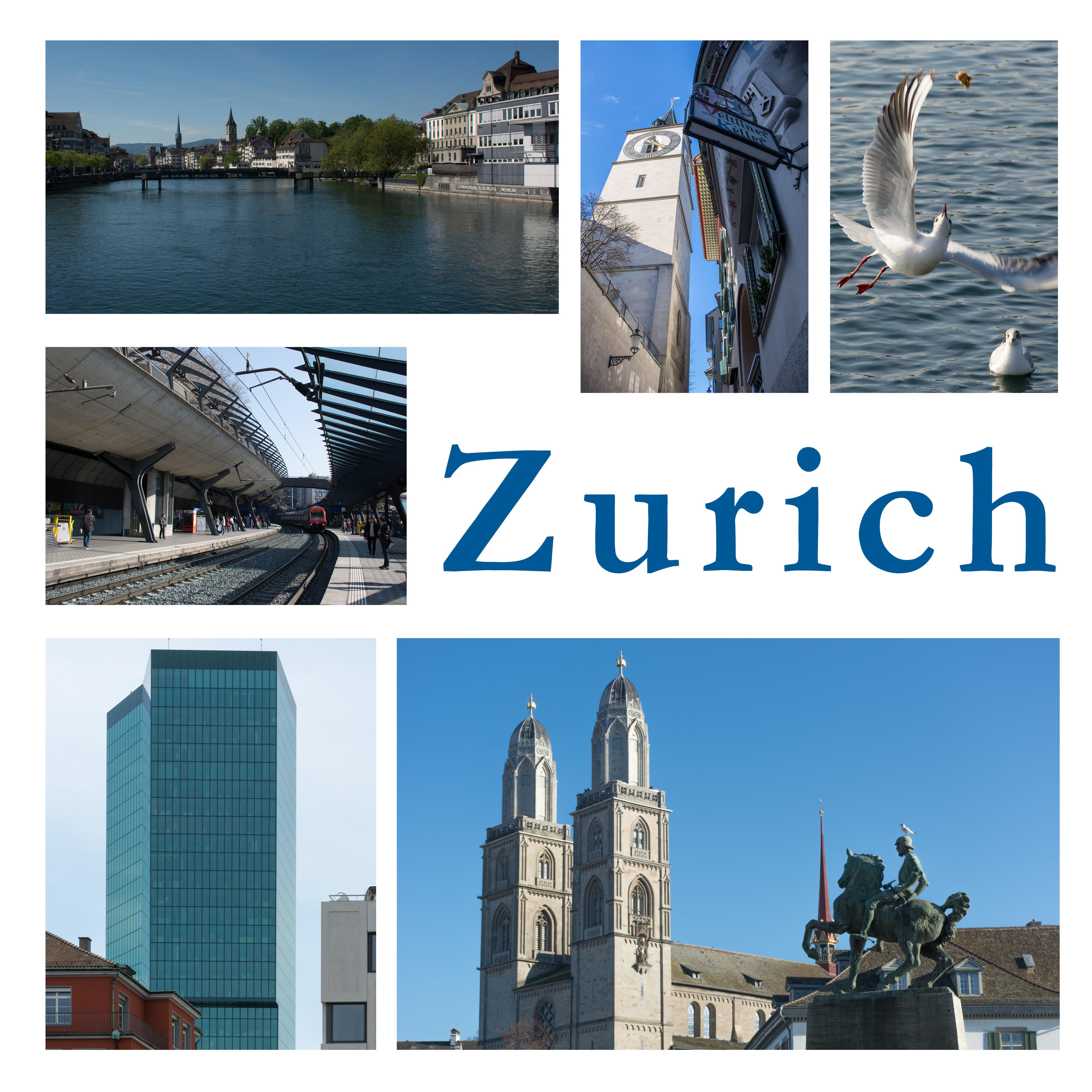 Zurich - images of a city - Brunner, Heinz|Resenterra, Franziska
