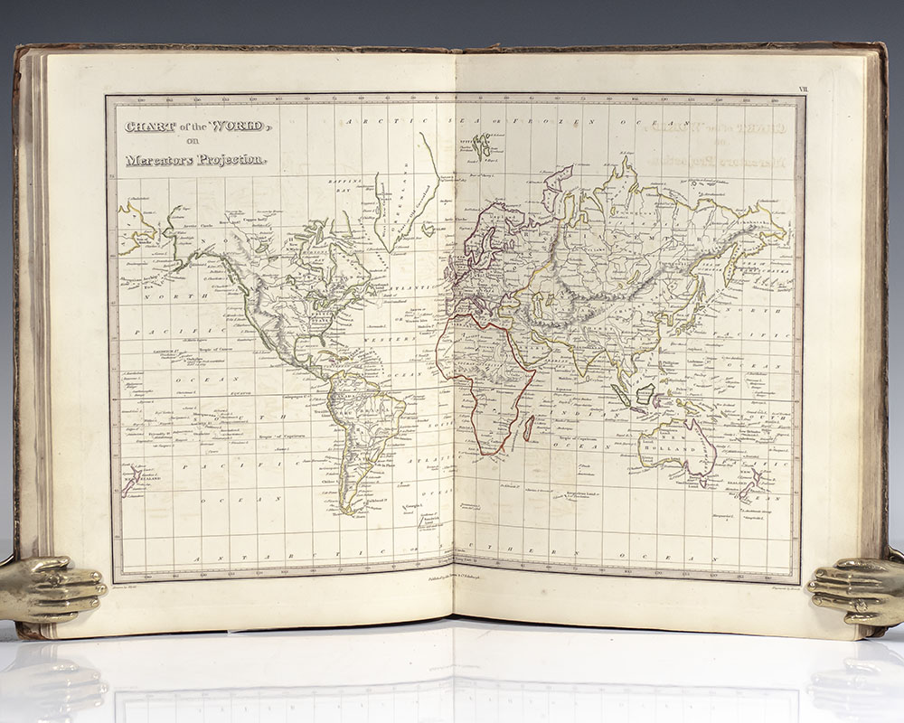 A General Atlas Containing Maps Illustrating Some: Wyld, James. Engraved