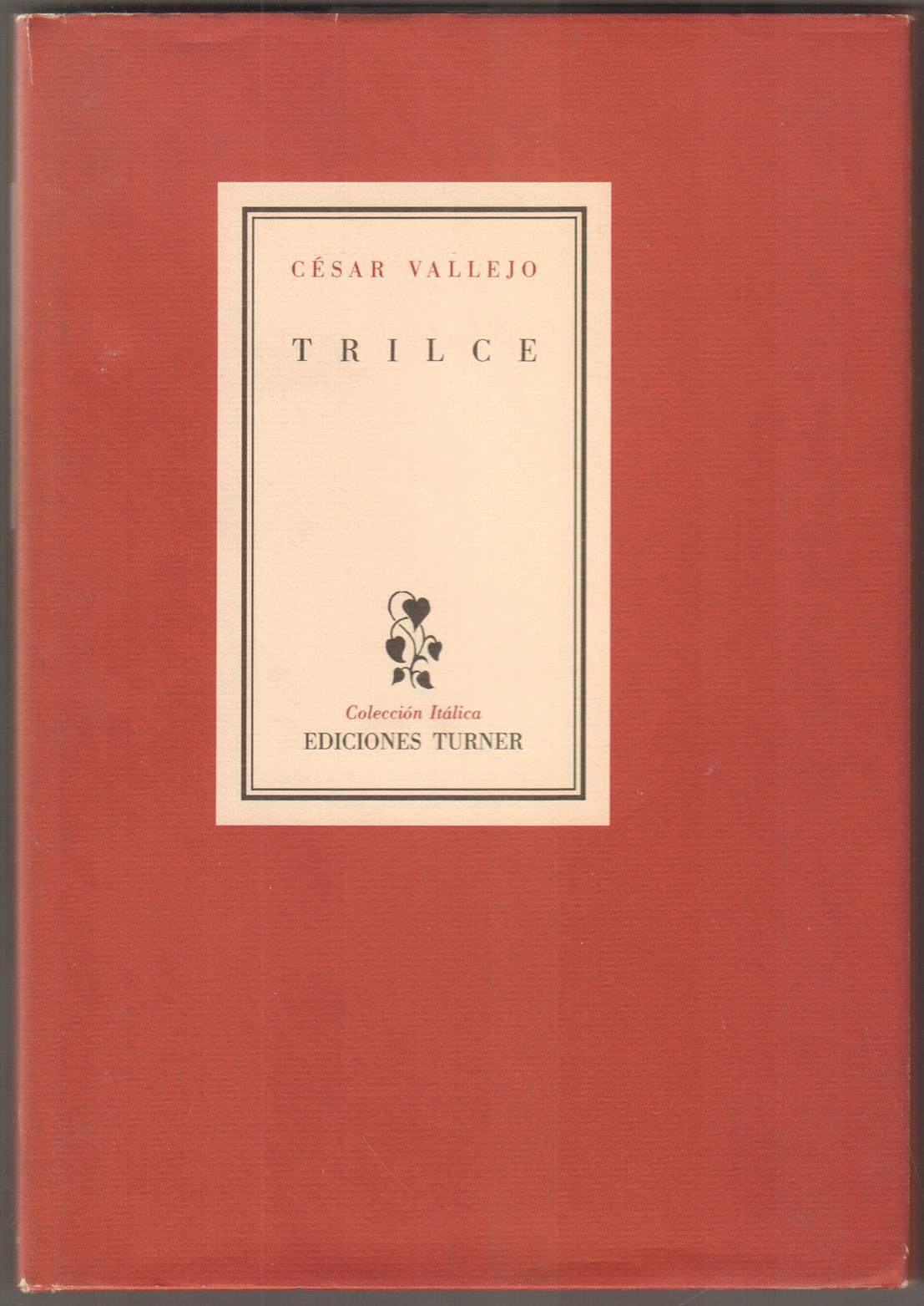 Trilce. (= Coleccion Italica). - Vallejo, César