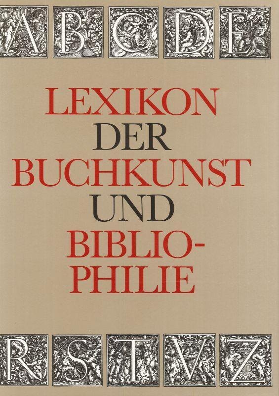 Lexikon der Buchkunst und Bibliophilie: Walther, Karl Klaus
